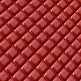 Red leather surface