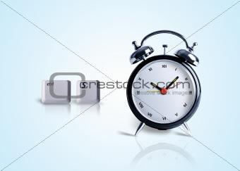 Saving Time / computer saves time