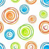 Seamless tangles pattern