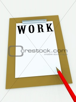Clipboard With Word