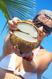 coconut open