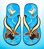 Koi geta sandals