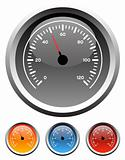 Dashboard speedometer gauges