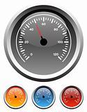 Dashboard speedometer gauges
