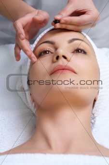 skin treatment applying