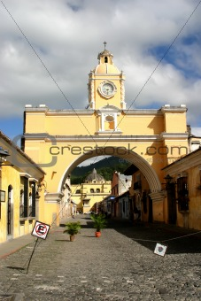 Arch in Antigua city