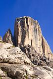 tower in the massif of civetta - dolomite - italy