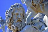 statue from vienna fountain - mythology