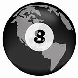 earth as eight ball