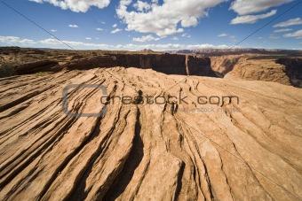 Red Sandstone - Blue sky USA (NF)