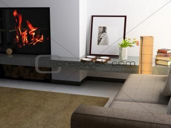 modern private interior