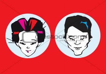 portrait series - japanese couple