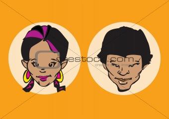 portrait series - couple