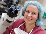 Portrait of embryologist