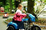 Child on motorbike Germany (GD)