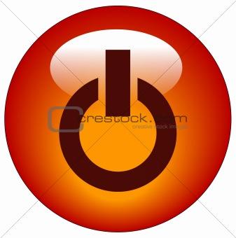 power web icon or button