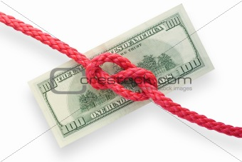 Money and knot 01