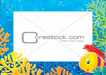 photo-frame &quot;Coral fish&quot;