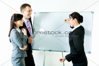 Explaining ideas