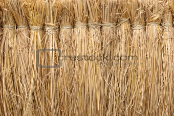 Background of straw