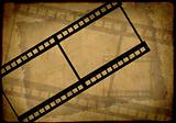 Grunge background - symbolical the image of a film