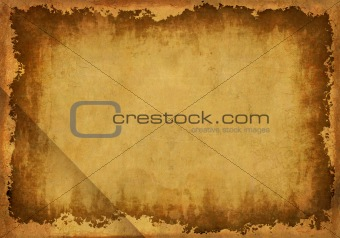 Grunge background - a sheet of the old, soiled paper