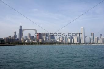 Skyline Chicago Illinois USA (KH)