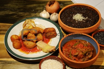 Cuban dishes