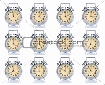 group of alarm clock