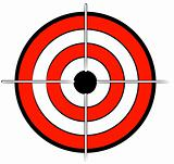 bullseye or target