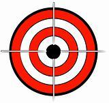 bullseye or target