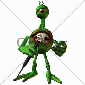 Toon Alien Sammy