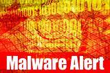 Malware Alert System Message