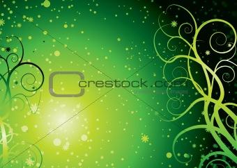 green stella floral