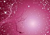 Pink stella floral