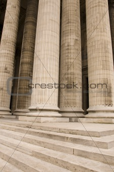 Classical antic architecture