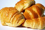 Tasty croissants
