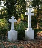 Old German graveyard