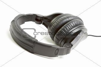 Pair of Black Headphones