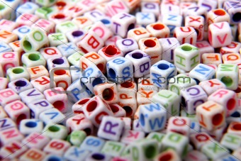 toy bricks with letters
