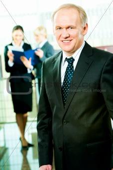 Skilful manager