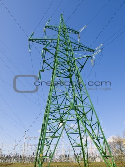 Single electricity tower