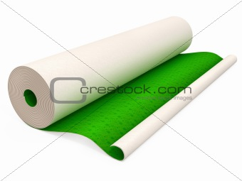 green wallpapers for house walls covering isolated