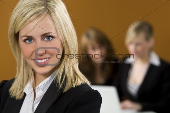 Businesswoman In Focus