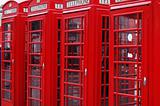 London telephone cabins