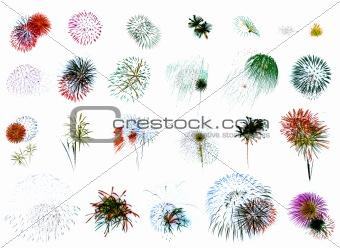 Fireworks Extravaganza (white)