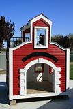 Playhouse On A Playground