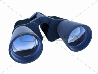 isolated binoculars