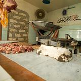 Butcher shop in Kenya