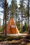 Teepee Cabin in Forest